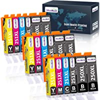 Deals on 18 Packs OfficeWorld Compatible 250 251 Ink Cartridge