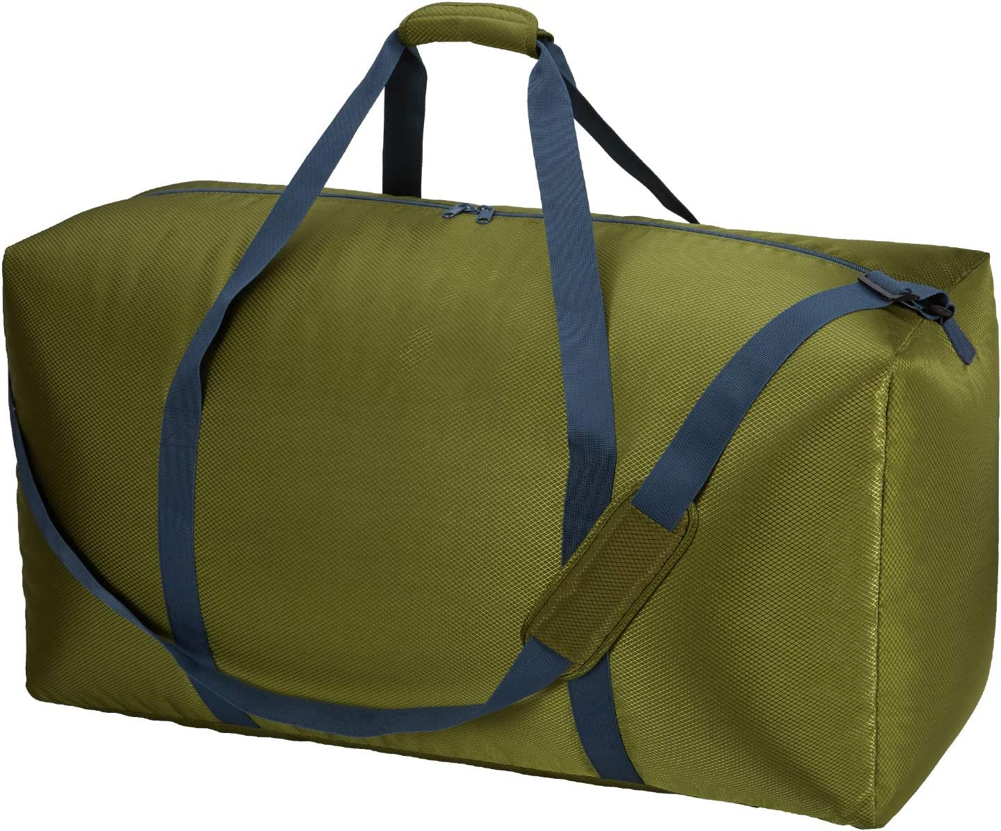 32.5 inch Extra Large Travel Duffle Bag, Oversized Luggage Bag Lightweight (Green)