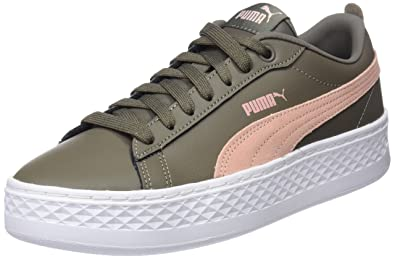 Puma Damen Smash Platform L Sneaker, Schwarz Black Black 1, 39 EU