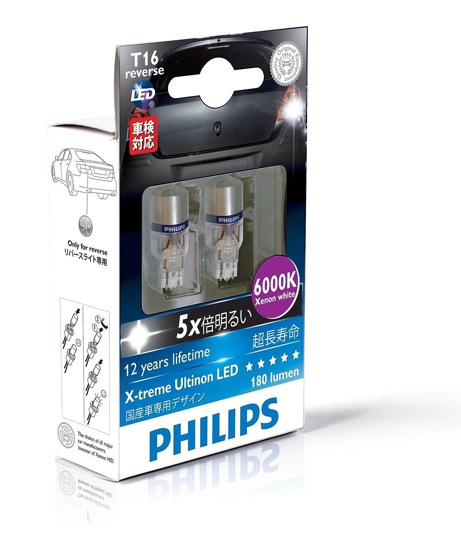 Amazon.com: Philips 921 T16 retrofit X-tremeVision LED Exterior light (Pack of 1): Automotive
