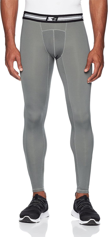 "Starter Men's 28"" Athletic Light-Compression Leggings, Amazon Exclusive"