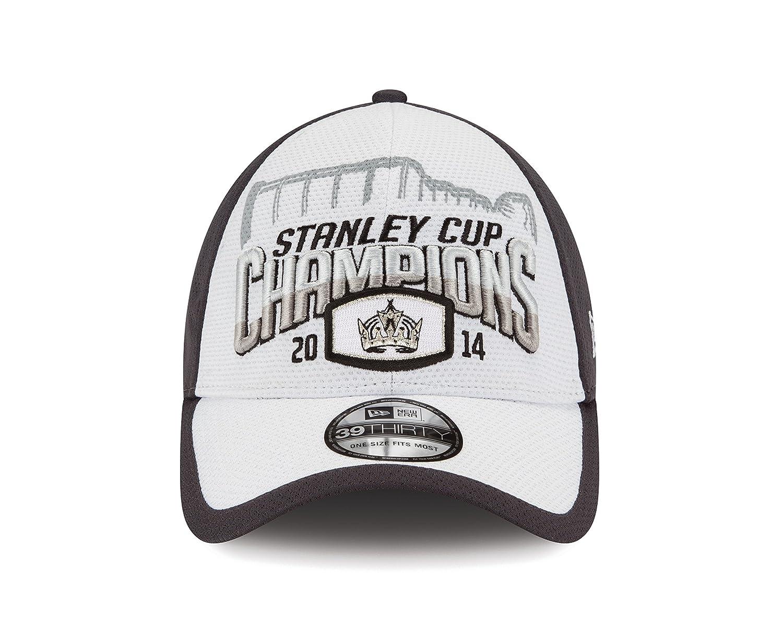 1baa67dbd Amazon.com : NHL Los Angeles Kings 2014 Stanley Cup Championship Locker  Room Cap : Clothing