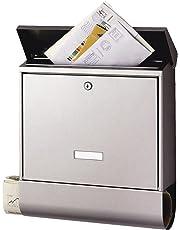 Design Briefkasten Zeitungsfach Postkasten Wetterfest Mailbox Wandbriefkasten DE