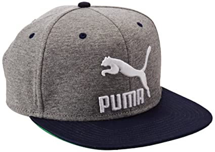 Puma Gorra LS Colourblock Snapback para Hombre Color Gris Talla unitalla 4c675d93dc9