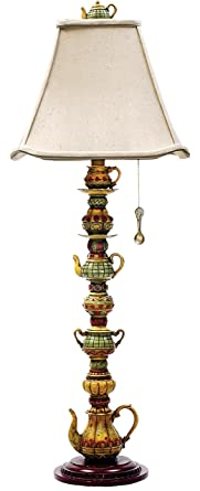 Etonnant Sterling Home 91 253 Tea Service Candlestick Table Lamp