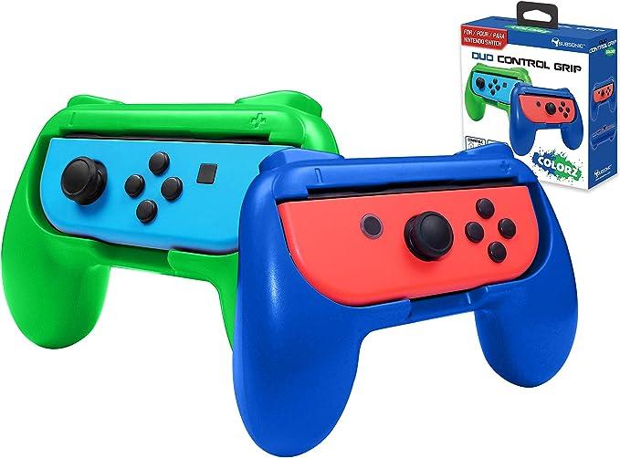 Subsonic - Mandos para Joy-Contras, Azul y Verde (Nintendo Switch): Amazon.es: Videojuegos