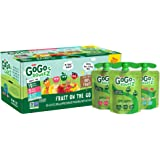 GoGo squeeZ Applesauce, Variety Pack (Apple/Peach/GIMME 5), 3.2 Ounce (20 Pouches), Gluten Free, Vegan Friendly…