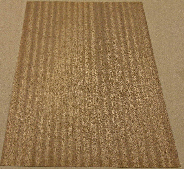 Mahogany African wood veneer 11 x 12 raw no backing A grade quality 1//42