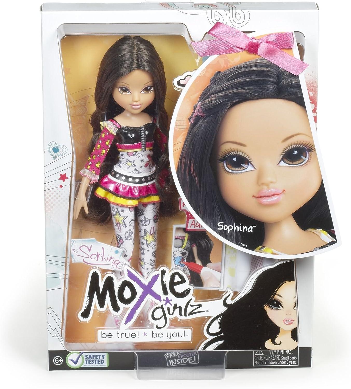 Ida e Sophina-Nuovo con Scatola Moxie Girlz dritto uno stile bambole-Avery