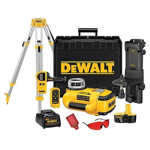 Best Rotary Laser Level #2: DEWALT DW079KDT Rotary Laser Kit Review
