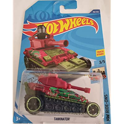 Hot Wheels 2020 Hw Ride-Ons Tanknator, 98/250: Toys & Games