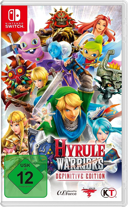 Nintendo Hyrule Warriors: Definitive Edition vídeo - Juego (Nintendo Switch, Acción / Lucha, Modo multijugador, T (Teen)): Amazon.es: Videojuegos