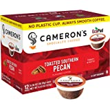 Cameron's Coffee Single Serve Pods, Flavored, Toasted Southern Pecan, 12 Count (Pack of 1)