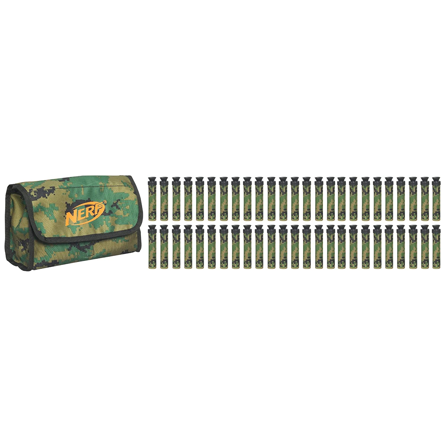 Nerf N-Strike Ammo Bag Kit - Green with Camouflage: Amazon.co.uk: Toys &  Games