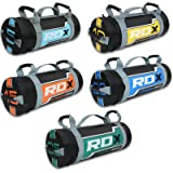 RDX Sandbag Weight Training Power Bag with Handles & Zipper | Weight Adjustable Fitness Powerbag for Crossfit, Weight Lifting, Running, Exercise, Powerlifting and Functional Workout