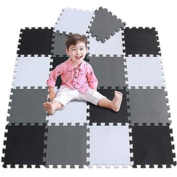Amazon Com Baby Play Mat Foam Puzzle Floor Playmat For Infants