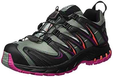 Salomon Damen Trail Laufschuhe Freizeitschuhe XA PRO 3D GTX® W schwarz grau