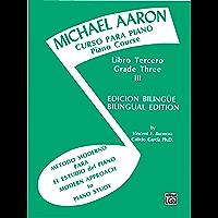 Michael Aaron Piano Course: Spanish & English Edition (Curso Para Piano), Book 3 book cover