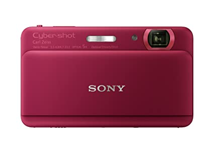 Amazon Sony Cyber Shot DSC TX55 162 MP Slim Digital Camera With 5x Optical Zoom And 33 Inch OLED Touch Screen Violet Point Shoot