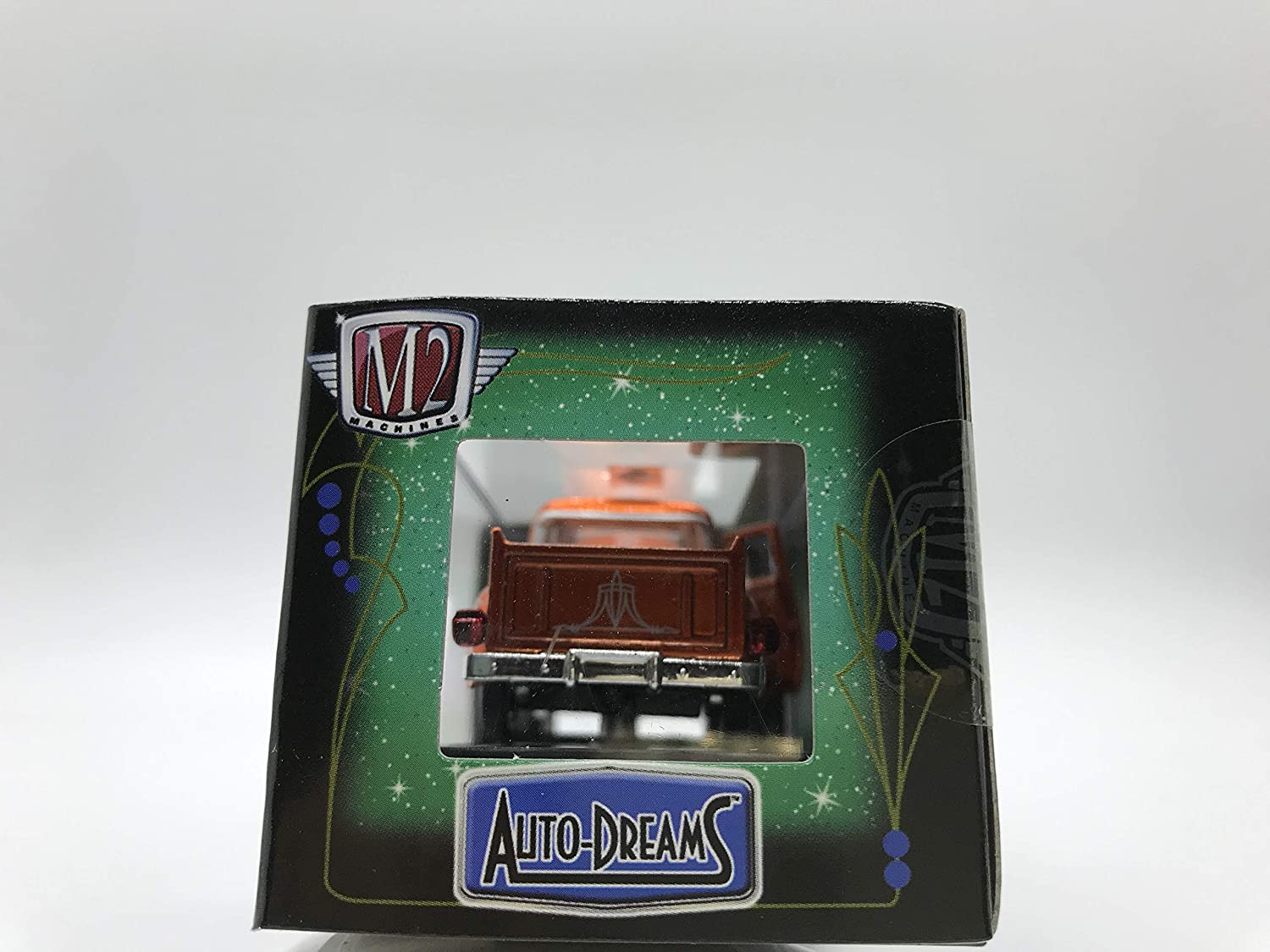 M2 Machines Auto-Dreams 1956 Ford F-100 Crazy Painter Tom Kelly Version 12-04 Metalic Orange Details Like NO Other Over 42 Parts