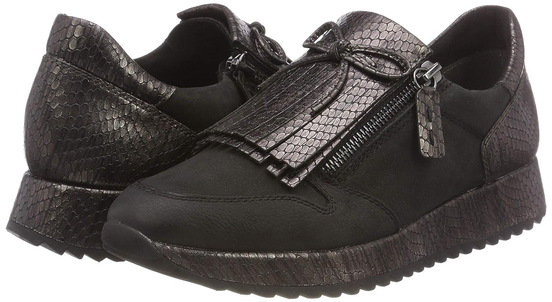 Tamaris (Blk/Pewter Damen 24701-21 Sneaker Schwarz (Blk/Pewter Tamaris Str 11) 66d59a