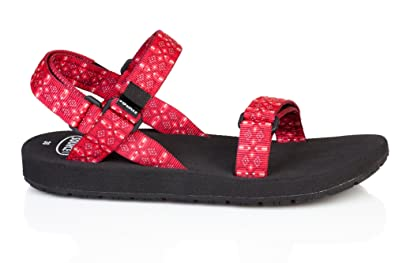 Chaussures Source rouges femme LAhKwh