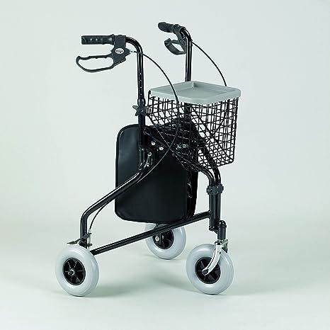 Patterson - cesta con bandeja para andador de 3 ruedas