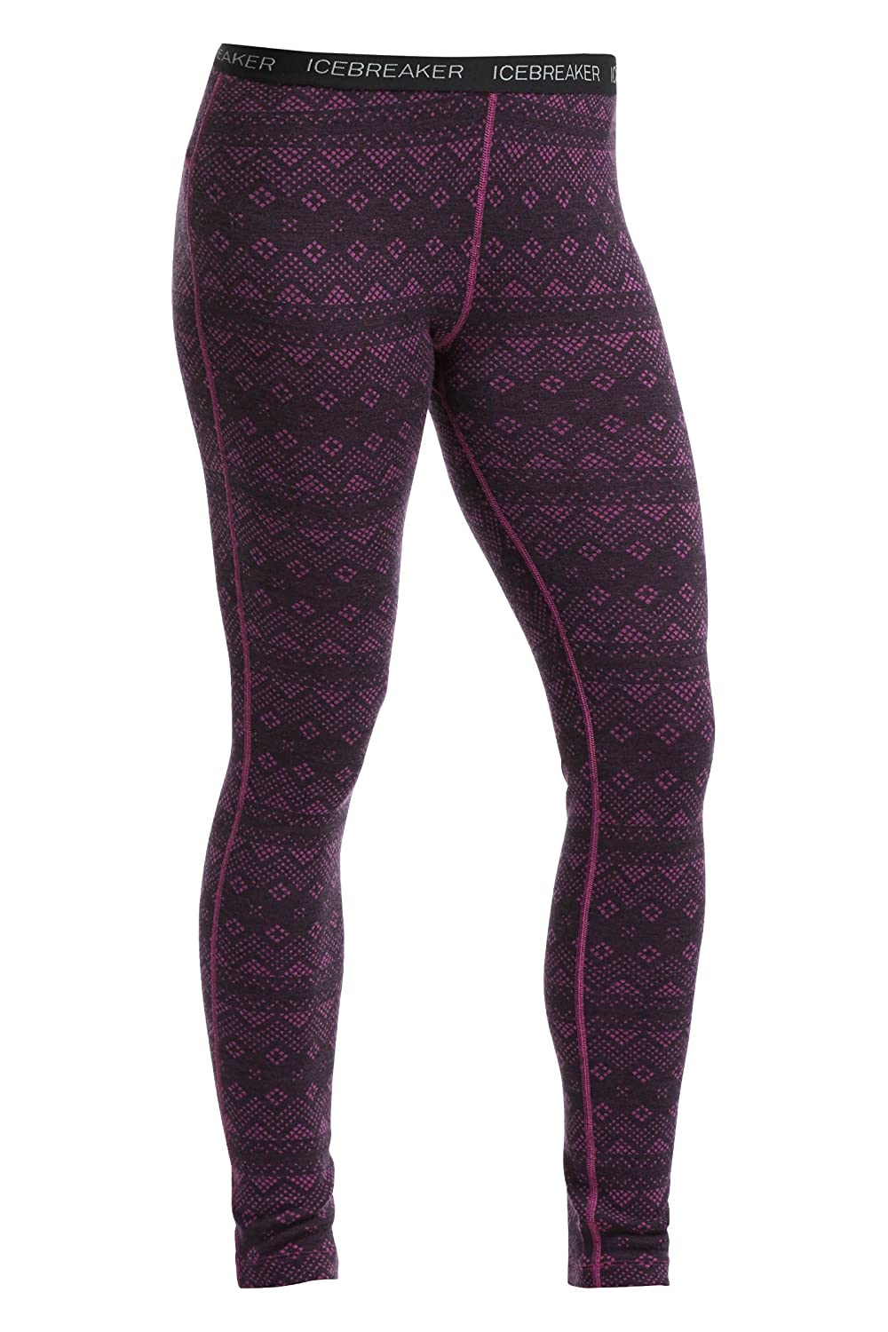 Icebreaker Women's Vertex Leggings Icon Fairisle (Large) 104393