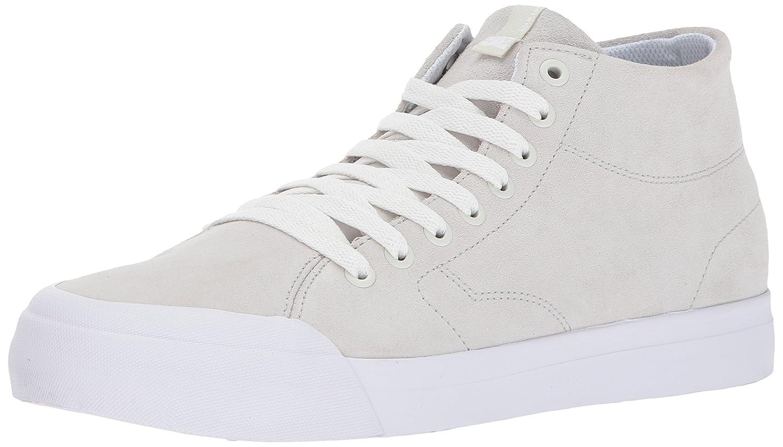 DC Mens Evan Smith HI Zero White Athletic Shoe