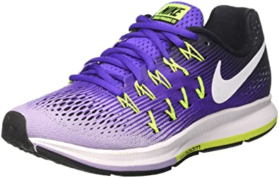 NIKE Women's Wmns Air Zoom Pegasus 33, Hyper Grape/White-Hydrangeas, 6.5