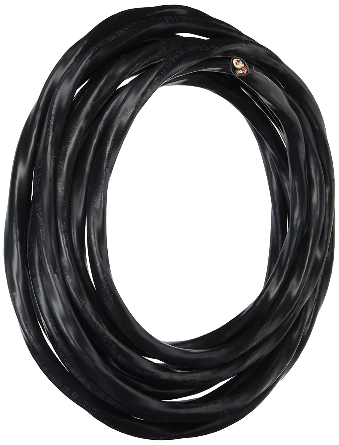 Romex 63950021 25 ft. 6 3 Black Stranded CU SIMpull NM B Wire