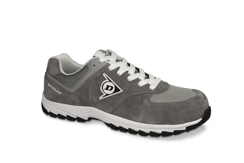 Dunlop Flying Arrow Travail de | Gris Chaussure de Sécurité | Chaussures de Travail S3 | avec Embout | Légères & Respirantes | Baskets de Protection de Travail Gris 551680a - piero.space