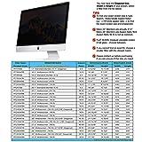 "GeckoCare 21.5 inch Privacy Screen Filter Protector for 21.5"" Apple iMac Monitor Retina 4K Anti-Glare & Widescreen Computer Monitors - Please Measure"
