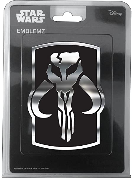 Chroma 41517 Chrome Injected Star Wars R2D2 Molded Emblem Decal