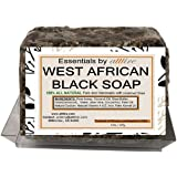 West African Black Soap |100% Organic|#1 Psoriasis, Acne, Eczema Treatment| For Face, Hair & Body| Anti-aging & Wrinkles…