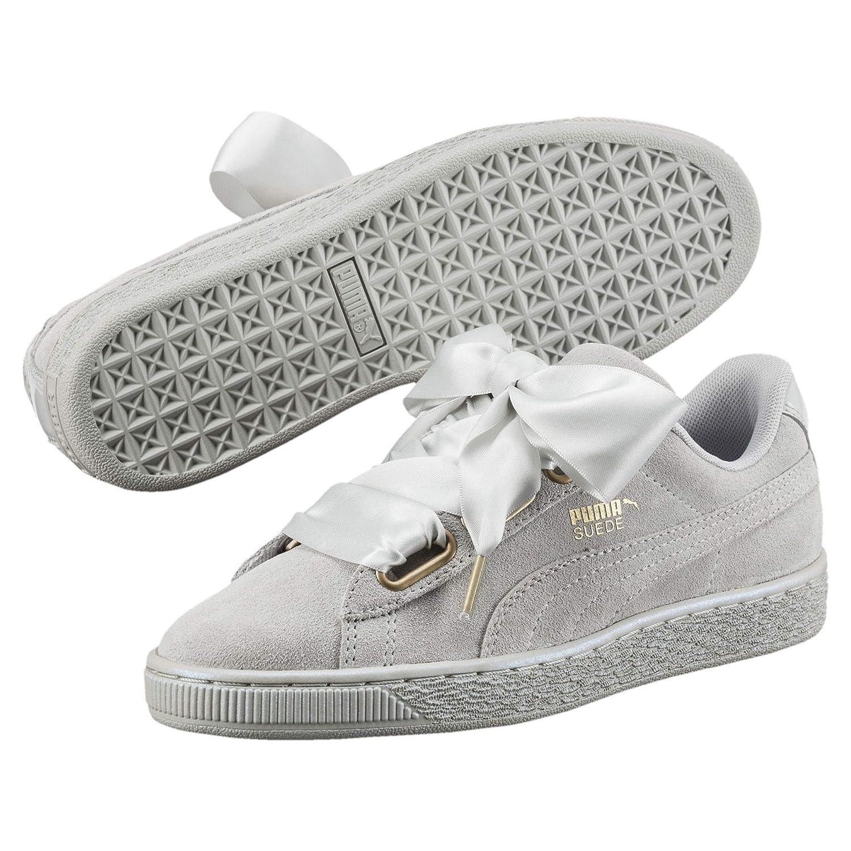 Puma Damen Suede Gray Heart Velvet Rope 365111-01 Sneaker Gray Suede Violet-gray Violet 440d83