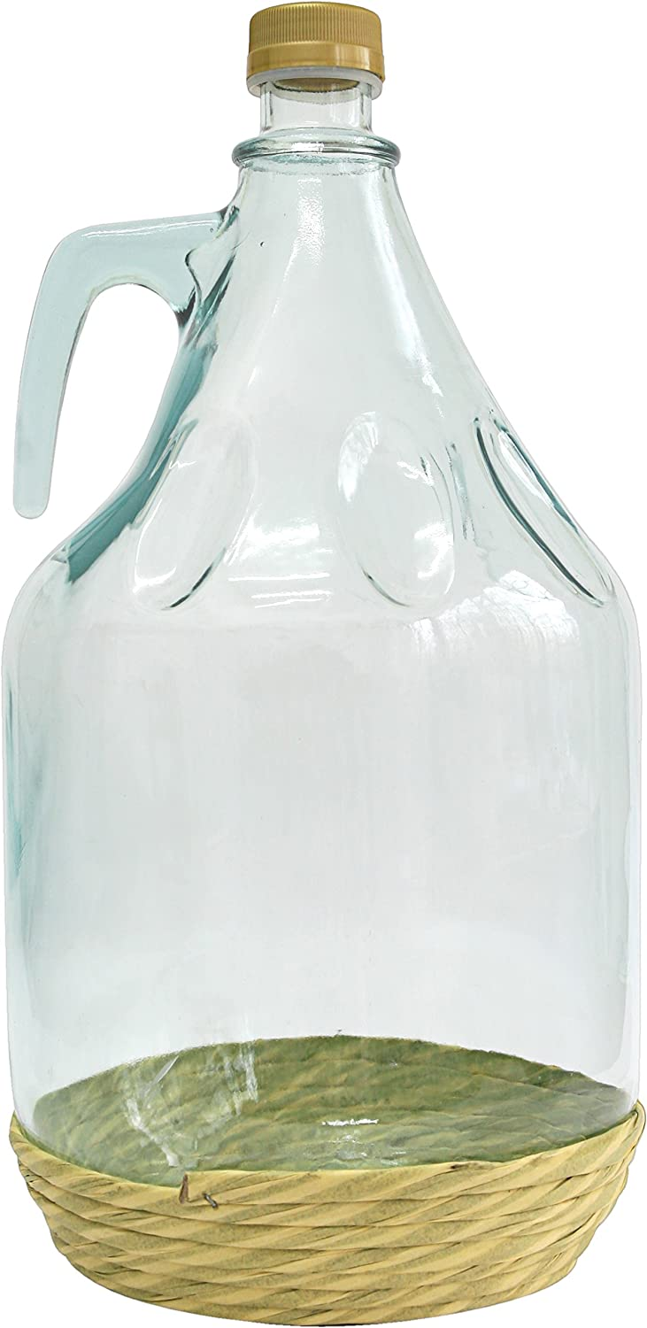 5L WINE MAKING DEMIJOHN WITH SCREW CAP (CARBOY). FREE DELIVERY!! BIOWIN