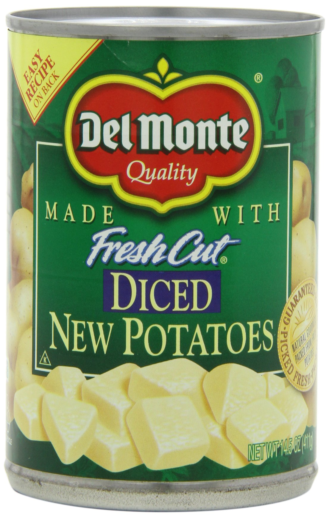 Del Monte Diced Potatoes, 14.5-Ounce (Pack of 8)