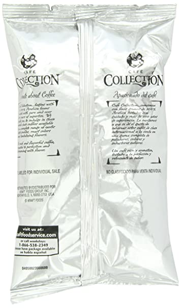 Amazon.com : Cafe Collections Irish Roast & Ground Coffee, 2.25 oz. (Coffee) Pack of 20 : Grocery & Gourmet Food