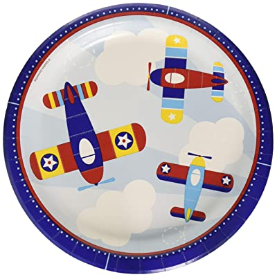 """Creative Converting 331504 DINNER PLATE, 9"""", Multicolor: Kitchen & Dining"""
