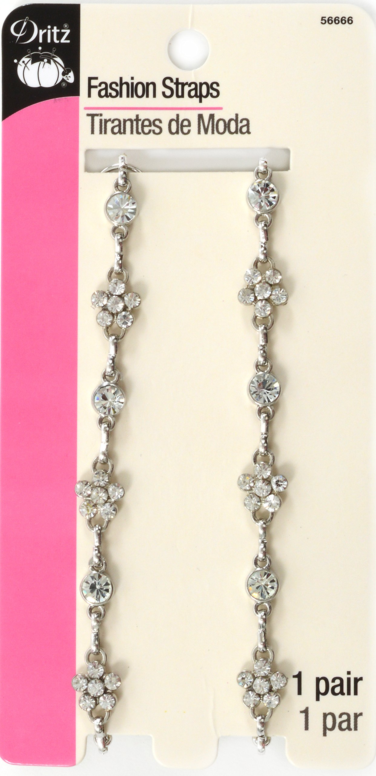 Dritz Detachable & Adjustable Rhinestone Fashion Straps by Dritz