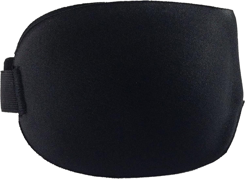 Pack antifaz para dormir de espuma EVA ultrasuave y confortable Bolsa de tela para guardar Talla L, 24 x 9cm Tapones para los o/ídos de alta calidad y durabilidad