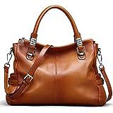 Ausverkauf-Yaluxe Damen elegant sexy weich Leder Schultertasche Handtasche