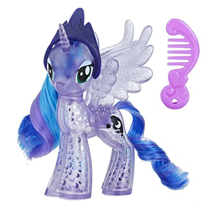 amazon com my little pony princess luna glitter celebration toys
