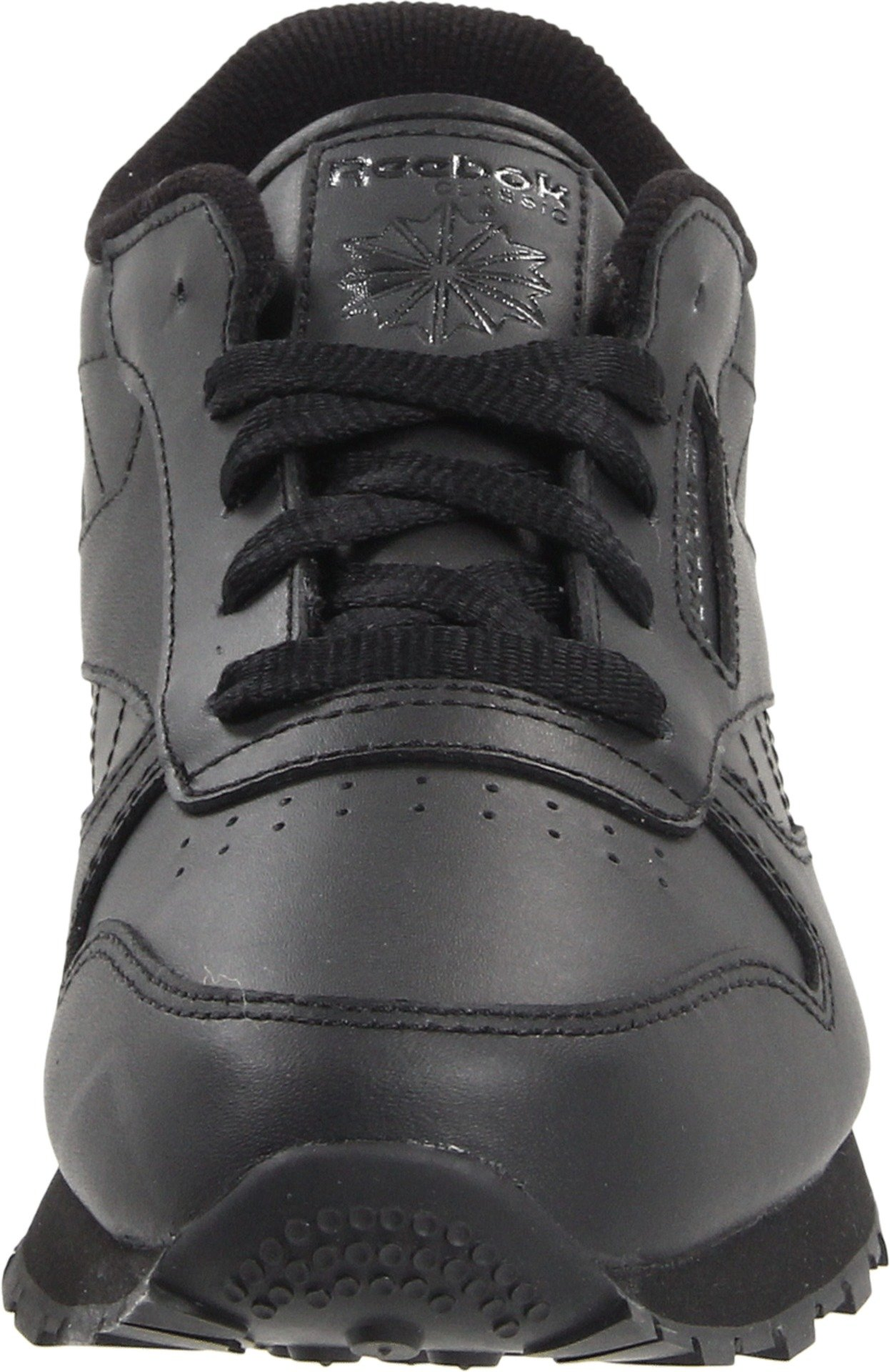 Reebok Classic Leather Shoe,Black/Black/Black,11.5 M US Little Kid by Reebok (Image #4)