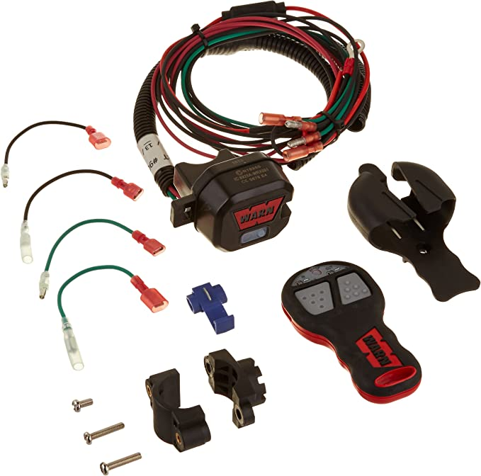Amazon Com Warn 90288 Powersports Winch Component Accessory Wireless Remote Control System For Atv And Utv Winches Automotive