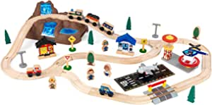 KidKraft Bucket Top Mountain Train Set, Multicolor (17826)