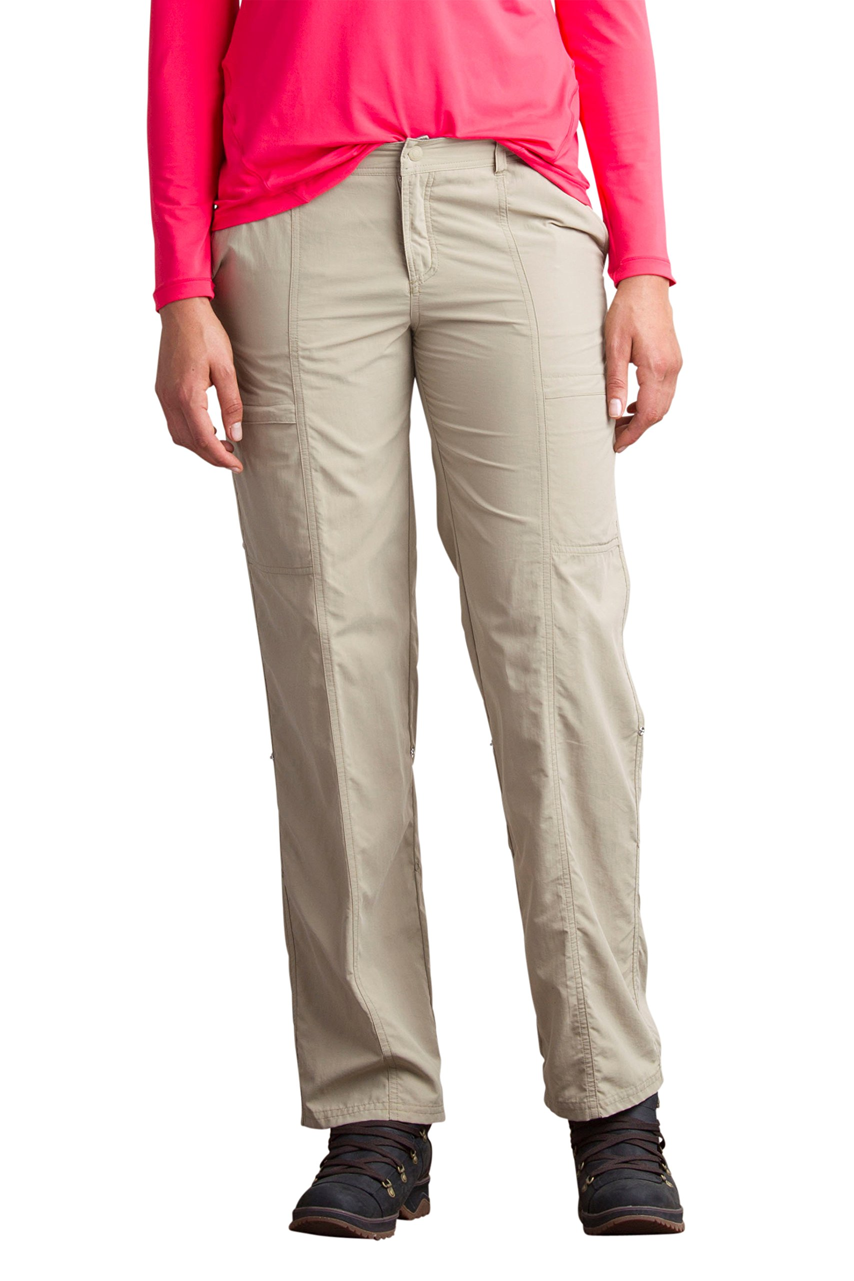 ExOfficio Women's Sol Cool Nomad Pants, Tawny, 10