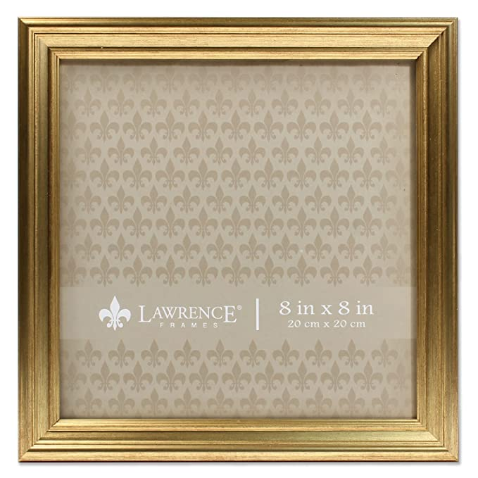 Amazon.com - 8x8 Sutter Burnished Gold Picture Frame -