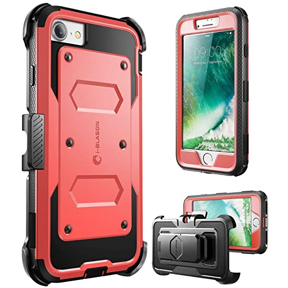 9339d64bbff41 iPhone 8 Case, [Armorbox] i-Blason built in [Screen Protector] [Full body]  [Heavy Duty Protection ] Shock Reduction/Bumper Case for Apple iPhone 7 ...